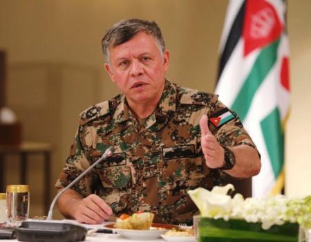 """الملك يبحث مع وفد """"الدفاع الوطني الأميركي"""" جهود مكافحة الإرهاب  Image"""