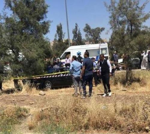 عمان - مقتل ثلاثة أردنيين في كمين مسلح على خلفية ثأر ( صور )